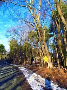 New print available on lanjee-chee.artistwebsites.com! - 'Empty road' by Lanjee Chee - http://lanjee-chee.artistwebsites.com/featured/empty-road-lanjee-chee.html via @fineartamerica