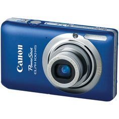 Canon PowerShot ELPH 100 HS 12.1 MP CMOS Digital Camera with 4X Optical Zoom (Blue) $127.99 #topseller