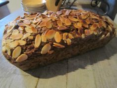 Almond and Zucchini Bread
