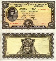 Roberts World Money. Sellers of Quality World Banknotes. Folding Money, Money Notes, Money Bank, Old Money, Central Bank, Banknote, European History, Coin Collecting, Gold Coins