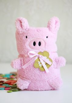 Pink As A Piglet Blanket