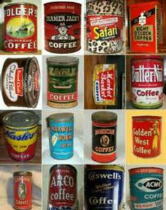 Antique Coffee Tins