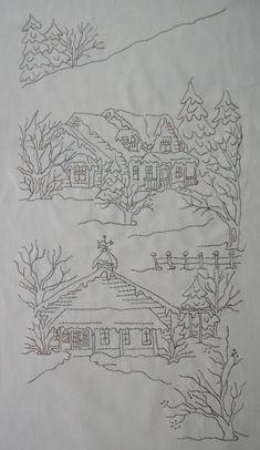 MoosecraftUSA: Redbud Cottage and Snow Days Block 5
