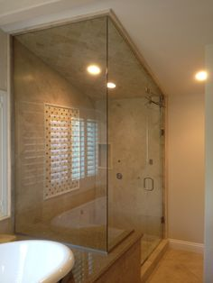 How To See Through Bathroom Glass. I Absolutely Love The Look Of This Glass Shower Enclosure Being Able To See Through And Into The Shower Itself Definitely Makes The Space Seem A Little Bit