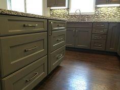 modern gray kitchen designed by michelle hampton of 84 lumber spacious kitchen by michelle hampton of 84 lumber   wolf designer      rh   pinterest com