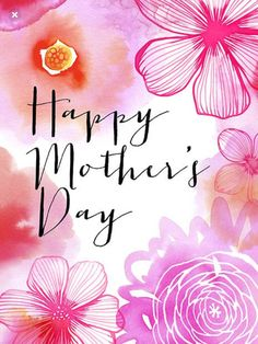 Art, illustration, hand lettering, design, murals and more. Happy Mothers Day Wishes, Happy Mothers Day Images, Mothers Day Pictures, Happy Mother Day Quotes, Diy Mothers Day Gifts, Mothers Day Cards, Mother's Day In Heaven, Mom I Miss You, Mother's Day Greeting Cards
