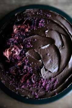 Chocolate & Beetroot Layer Cake with Cacao Fudge Frosting  |  Gather & Feast Healthy Cake, Vegan Cake, Chocolate Fudge Frosting, Chocolate Cake, Kakao, Savoury Baking, Beetroot Powder, Cozy Meals, Pretty Cakes