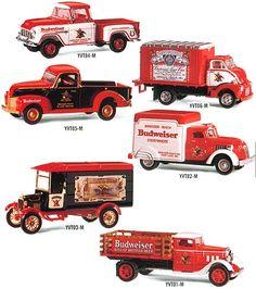 Matchbox collectables for Budweiser