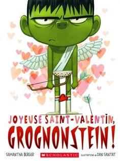 Grognonstein est de retour, et il est toujours aussi grognon! Évidemment, il déteste la Saint-Valentin! Il a horreur des roses et des poèmes, il déteste les guirlandes et les sandwiches en forme de coeur et il ne supporte pas les spectacles de la Saint-Valentin à l'école! Pourtant, il doit bien y avoir quelque chose ou quelqu'un qui lui plaît lors de cette journée spéciale...