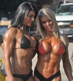 Muscle Girls In Motion