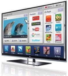 #LGLIMITLESS DESIGN & #CONTEST Luv it for a kitchen,think of all the recipes you could look up and try!LG's Smart TV