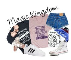 Magic Kingdom by naturallyb on Polyvore featuring polyvore, fashion, style, adidas, Converse and clothing