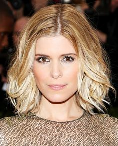 Celebrity Lobs We Love - Kate Mara from #InStyle