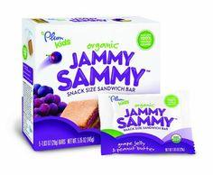 Plum Kids Organic Jammy Sammy, Grape Jelly and Peanut Butter, 5.15 Ounce - http://goodvibeorganics.com/plum-kids-organic-jammy-sammy-grape-jelly-and-peanut-butter-5-15-ounce/