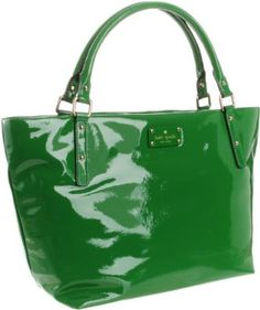 Kate Spade bag - green is perfect for Spring