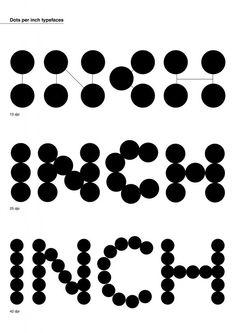 Dot matrix by @FraguasMarina are a bit lovey dovey   @TypeTasting  via @tonyplcc