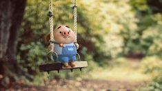 Pig Wallpaper, Animal Wallpaper, Disney Wallpaper, Kawaii Pig, Cute Piglets, Piggly Wiggly, Animated Dragon, Kawaii Illustration, Mini Pig