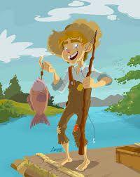 Risultati immagini per huckleberry finn character design