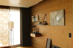 Goldene Wandverkleidung Wall Cladding