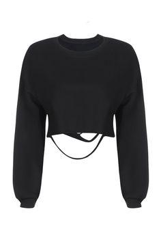 Brianna Cut Sweatshirt