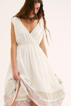 Endless Summer Lulu Midi Dress The White Album, The Great Escape, Free People Store, Vintage Bohemian, Free People Dress, Summer Collection, Style Inspiration, Summer Dresses, Skirts