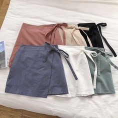 Good Offer of 2019 Summer Women Cotton Linen Skirt Wrap Skirt For Women High Waist Mini Skirts Spodnice Damskie If You search information fo. Retro Outfits, Casual Outfits, Fashion Outfits, Gothic Fashion, Steampunk Fashion, Woman Outfits, Gothic Steampunk, Victorian Gothic, Gothic Lolita