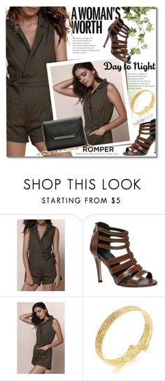 """""""Day to Night: Rompers"""" by svijetlana ❤ liked on Polyvore featuring DayToNight, romper, polyvoreeditorial and twinkledeals"""
