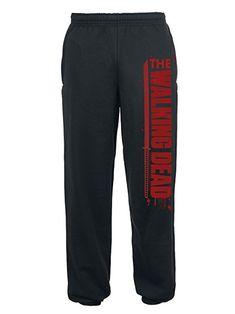 The Walking Dead Sword Tracksuit Trousers Black XL