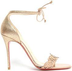 "Christian Louboutin s Spectacular Designs for ""Valnina"" Ankle-Tie Sandal  Spring Summer 2014 929589f51b88"