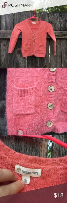 {Tucker & Tate Sweater} Precious! So cute and so so soft. On an adult hanger in the picture, so may look like it has an odd shape, but it is in great condition. Tucker + Tate Shirts & Tops Sweaters