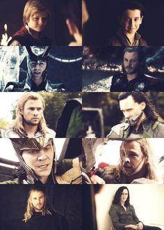 Thor & Loki through the years