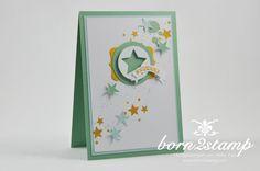 born2stamp STAMPIN' UP! Weihnachtskarte - Froehliche Stunden - Perpetual Birthday Calendar - Sterne Birthday Calender, Perpetual Birthday Calendar, Holiday Cards, Christmas Cards, Birthday Cards For Him, Stampin Up Christmas, Stampin Up Cards, Scrapbook, Stamp Sets