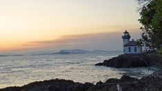 But if you do have a car, you'll find plenty of nearby attractions, like the Lime Kiln Lighthouse. Western Washington, Oregon Washington, Beautiful Places In The World, Most Beautiful Cities, Friday Harbor Wa, Olympia Washington, San Juan Islands, Weekend Getaways, Beautiful Landscapes