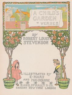 ''A Child's Garden of Verses'' 1902,  illustrations by E. Mars and M. H. Squire | eBay