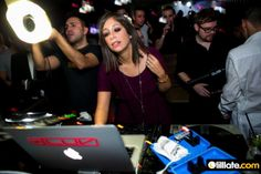 Spinning at Jade Club for the 'Models Exposed' party in Zurich
