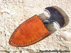 push dagger | push dagger sheath by veitsen artisan crafts metal work 2013