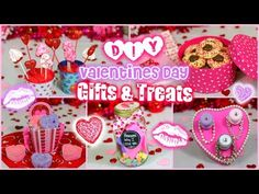 Easy DIY Valentine's Day Gift & Treat Ideas for Guys and Girls!! ❤️ | Jessica Reid - YouTube