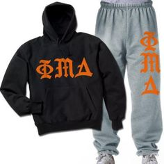 Phi Mu Delta Printed Old English Package - CAD