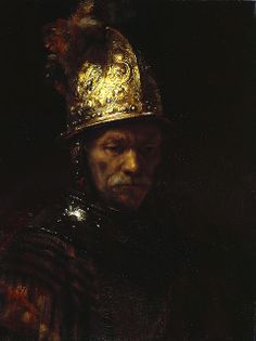 Man with Golden Helmet __ Rembrandt An all time favorite