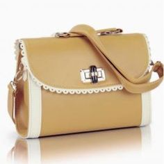 two toned handbags   ... Scallop Lace Trim Two Toned Handbag in Tan   Sincerely Sweet Boutique