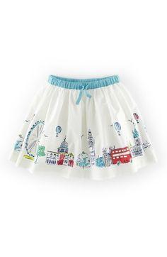 Mini Boden 'Scenic' Graphic Skirt (Toddler Girls, Little Girls & Big Girls) available at #Nordstrom