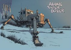 Alone WalkDozer from Andrey Tkachenko