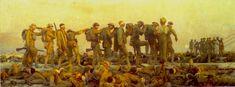 John Silver Sargent. Gaseados. Imperial War museum, London, 1918-1919.