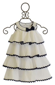 Biscotti Ric Rac Rhumba Little Girls Dress