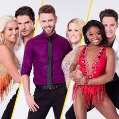 'Dancing With the Stars' Season 24 Cast: See Simone Biles, Nick Viall and More Celebs With Their Partners