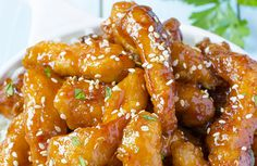 This sweet-spicy sesame chicken is simple to make but will delight you with…