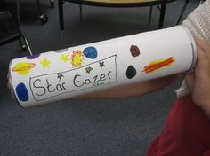 The GT Classroom: Project: Pringles Can Constellation Viewer Bear Scout Elective 1b Make a pinhole planetarium and show three constellations.