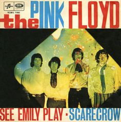 The Pink Floyd See Emily Play / Scarecrow Italy single