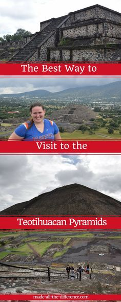 Taking a day trip from Mexico City to the Teotihuacan Pyramids?  I skipped the shopping tour and used public transport to maximize my time on site.