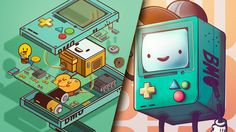 """Check out this @Behance project: """"BMO LOVE"""" https://www.behance.net/gallery/52008447/BMO-LOVE"""